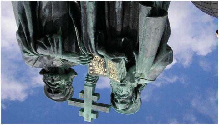 STARÉ SLOVANSKÉ PÍSOMNÍCTVO CYRIL A METOD BOLI VYMYSLENÍ